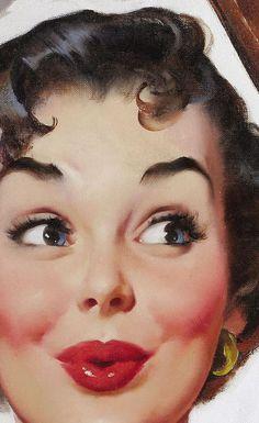 41 Trendy Wall Paper Vintage Pin Up Gil Elvgren Pin Up Vintage, Pin Up Retro, Retro Art, Vintage Girls, Vintage Art, Gil Elvgren, Vintage Pictures, Vintage Images, Retro Kunst