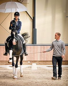 teaching relaxation under pressure for the sensitive dressage horse - Tristan Tucker