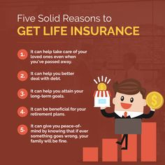 Five Solid Reasons to Get Life Insurance  #LifeInsurance #JEInsuranceAssociatesDBAAmcoInsurance