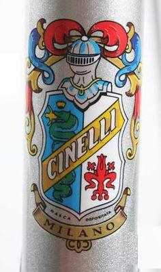 Cinelli, old logo. but i still love it. it is very 70th
