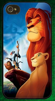 Disney The Lion King Simba iPhone Mobile Case Cover For Phone 4 / 4S / 5