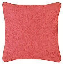 Blush Matelasse Throw Pillow