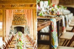 Bohemian Luxe Wedding at Devil's Thumb Ranch | planning and design by Love This Day Events