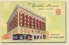 The Battle House Hotel - Mobile, Al.