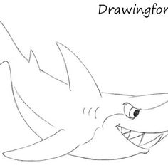 Marvelous Drawing Animals In The Zoo Ideas. Inconceivable Drawing Animals In The Zoo Ideas. Shark Drawing, In The Zoo, Drawing Lessons, A Cartoon, Learn To Draw, Little Pony, Designs To Draw, Line Drawing, Animal Drawings