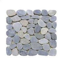 Abacus Direct Designer Tiles SAMPLE TILE OF :Pebble Natural Mixed Mosaic Tile 1005