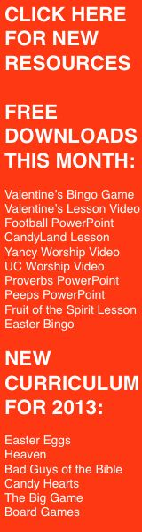 Childrens Ministry Curriculum