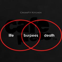 Hahahahahhaha oh #burpees... #CrossFit #KippingItReal http://kippingitreal.com