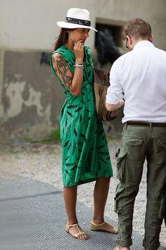 That Summer Green Vintage Dress