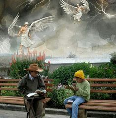 Love this...we need to always remember the angels are sent to help us... Read God's Word Daily!   ♥•.¸¸.•♥   JW.org has the Bible  bible based study aids to read, watch, listen  download in 300+ (sign included) languages. They also offer free in home bible studies.  All at no charge.