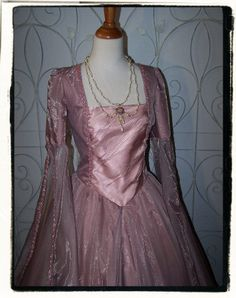"Cinderella at the Ball Renaissance Game of Thrones Gown Bust 39"". $250.00, via Etsy."