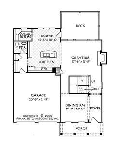<3 <3 Floor Plans AFLFPW74178 - 2 Story Country Home with 4 Bedrooms, 2 Bathrooms and 2,386 total Square Feet