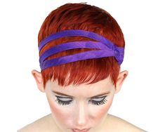 Excited to share this item from my #etsy shop: Silk Headbands For Short Hair Modern Vintage Dress, Vintage Style Shoes, Modern Vintage Fashion, Vintage Inspired Outfits, Headbands For Short Hair, Headbands For Women, Jewel Hands, Jeweled Headband, Bright Purple