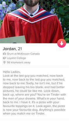 21 Tinder Profiles That You'd Swipe Right On Just Because Of The Quality Bio
