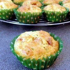 muffins au boursin et poulet