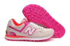 61bdeb13a59 New Balance 574 Women Runnning Shoes Beige Pink Cheap