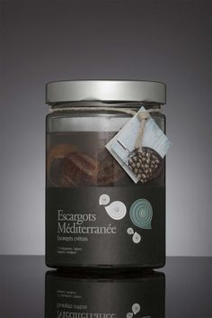 Escargots Mediterranee on Packaging of the World - Creative Package Design Gallery