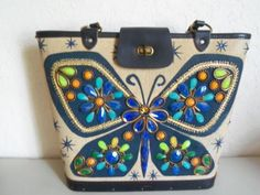 Enid Collins Butterfly satchel