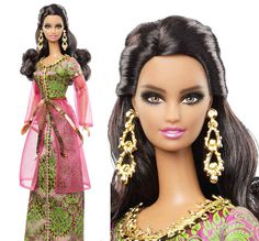 X8425 Dolls of The World Morocco 2013 BARBIE DOLL Pre Order