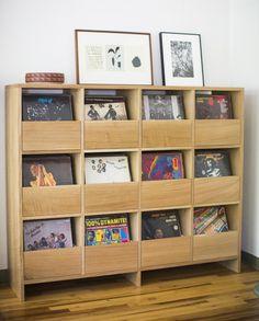 12 drawer vinyl record cabinet @killscrow