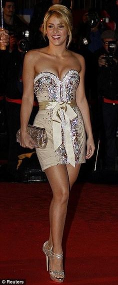 Shakira. What a little gem. And always a good idea.