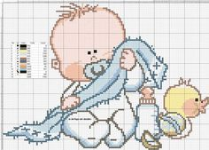 Cross Stitch For Kids, Cute Cross Stitch, Cross Stitch Charts, Cross Stitch Designs, Cross Stitch Patterns, Cross Stitching, Cross Stitch Embroidery, Square Quilt, Fabric Painting