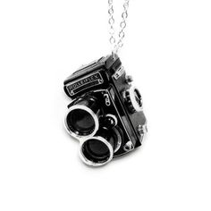 Vintage Camera Necklace, $22, now featured on Fab.