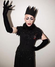 Sasha Velour's entrance look