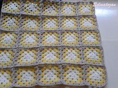 ELİMDEN GELENLER: İplik Koparmadan Motif Birleştirme Crochet Coat, Ravelry, Blanket, Etsy, Pattern, Crocheted Afghans, Crocheting, Sewing Projects, Sewing