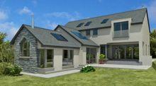 New exterior bungalow renovation house plans Ideas Bungalow Homes, Bungalow House Plans, Craftsman House Plans, New House Plans, Modern Bungalow, Bungalow Renovation, Farmhouse Renovation, House Front Design, Modern House Design