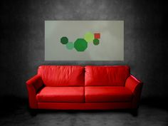 abstract painting Large Wall Art Wood Sculpture by JerryTitanArt