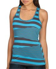 Pieced Stripe Tank