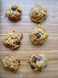 Dark Chocolate Chip Macaroons (Gluten-Free and Vegan). Mangia.