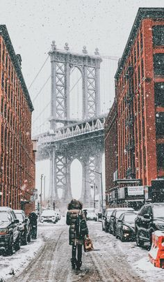Brooklyn in the winter