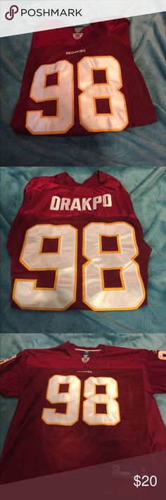 Redskins jersey Redskins jersey.      Size 52.      Good condition.       Player- Orakpo Reebok Other