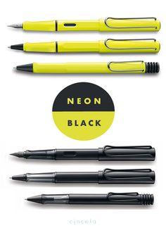 Lamy Safari Neon & Black
