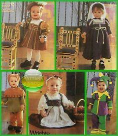 Simplicity 5517 Childrens Medieval/Renaissance Patterns Princess Joker