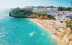 Lounge on the beach in Portugal's Algarve fishing village, with a picnic basket of pastéis de nata all to yourself.