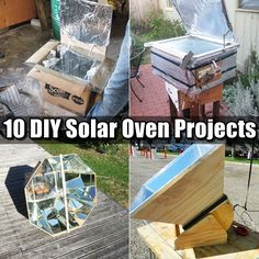 10 DIY Solar Oven Projects,homesteading,preparedness,frugal,how to, build,