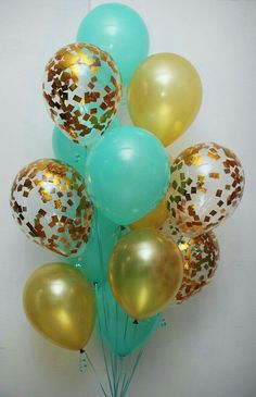 Conffeti Glitter Sparkle Pearl Metalic Chrome Jewel Neon TULLE Balloons in printed or standard style With LED Feather - Personalized Shiny or plain texture Balloon Centerpieces, Balloon Decorations, Birthday Decorations, Tulle Balloons, Confetti Balloons, Butterfly Balloons, Birthday Balloons, Birthday Parties, 30th Balloons