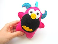 Monster Felt Plush  A334  FREE Shipping Within the by Mariapalito, $10.00