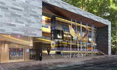 02_Parmis Shopping Mall_Exterior Perspective