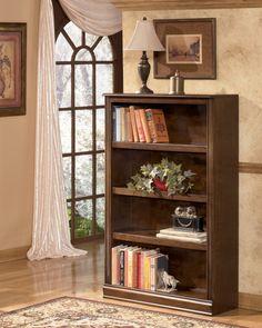 Hamlyn - Medium Brown - Medium Bookcase