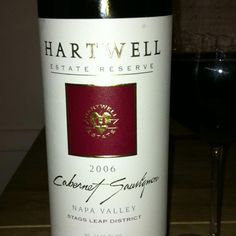 One of my favorite places...Hartwell Estate Vineyards. Could stay there for days
