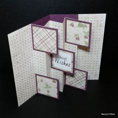 TUTORIAL.... Flag Fold Card