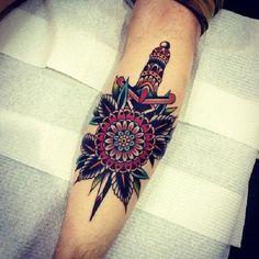 Tattoo-Idea-Design-Dagger-Dolch-14-Kirk Jones