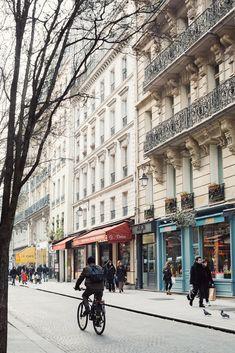 Paris in March via Ann Street Studio