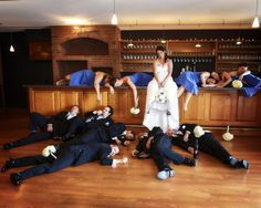 Great photo idea for a fun loving couple! Photo by: JZ Photography