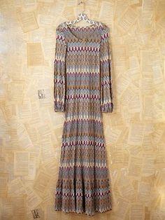 Vintage Missoni Knit Dress from freepeople.com