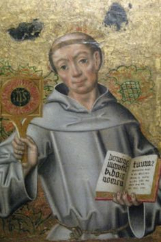 St. Bernardine of Siena was born on September 8, 1380, and lived a life of holiness. When the plague broke out in 1400 AD, St. Bernardine offered to care for the sick and would not stop until he became ill. In 1402 he entered the Franciscan Order and was ordained a priest in 1404.  St. Bernardine was sent out to preach the Good News of Jesus, and his sermons drew thousands. He usually would focus on devotions to the Holy Name of Jesus. From these speeches, St. Bernardine decided to create a…